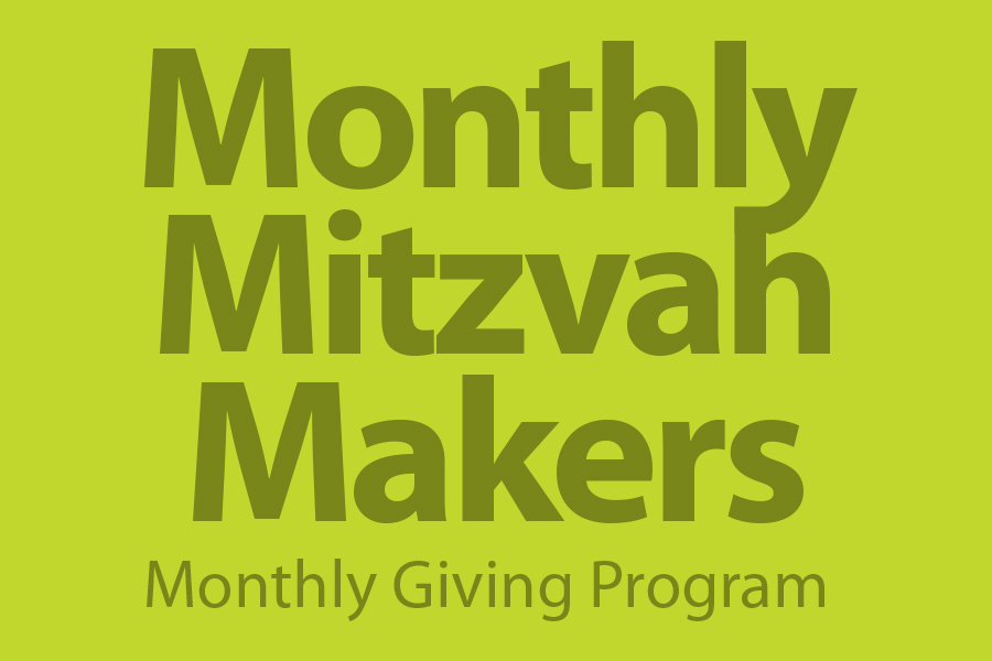 Monthly Mitzvah Makers